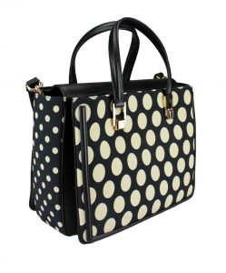 polka-dots bag