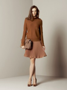 sweater with skirt