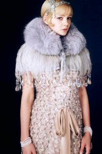 "Carey Mulligan wearing Prada for ""The great Gatsby"""
