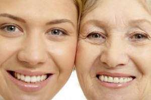 yound and older woman