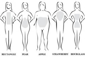 No body shape is perfect. Learn to love yours!