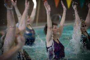 Aqua Zumba is perfect for anyone with joint problems, chronic conditions, weight problems