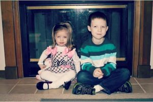 Adalynn, 3 and Lucas, 7 both have aniridia