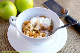 Apple Pie Mug Cake 2